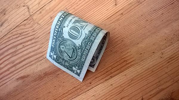 Доллар обвалился прямо напол
